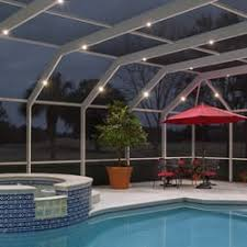 pool enclosure lighting. photo of screen enclosure lighting jacksonville beach fl united states pool