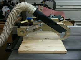 tablesaw blade guard with dust collection by retiredcoastie