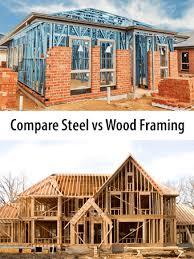 steel vs wood house framing costs