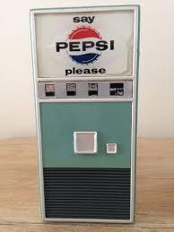 Pepsi Vending Machine Classy Vintage Pepsi Vending Machine Transistor Radio USA Rare 48s
