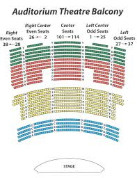 Second Stage Seating Chart 70 Actual Auditorium Theater Seating
