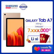 Máy tính bảng Samsung Galaxy Tab A7 (2020) - Hàng chính hãng - Miễn phí vận  chuyển - Trả góp 0% giá rẻ 7.510.000₫