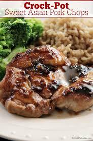 crock pot sweet asian pork chops