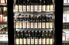 a wall of pliny at the new city beer city beer facebook