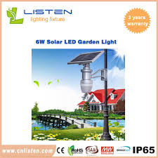 E6 EnergySolar Street Light Brochure