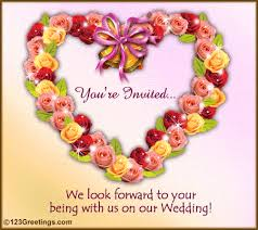 you are invited! free wedding ecards, greeting cards 123 greetings Online Animated Wedding Invitation Cards you are invited! online animated wedding invitation cards free