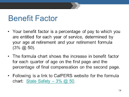Calpers Retirement Percentage Chart State Safety 50 Destination Retirement Learn About