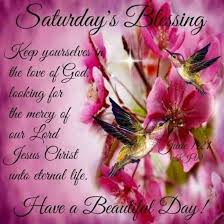 Blessing Quotes Adorable 48 Saturday Blessing Quotes