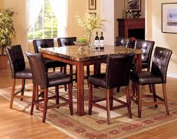 Granite Kitchen Table Sets Bedroom Surprising Black Granite Top Dining Table Kitchen Tops