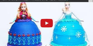 How To Make A Frozen Princess Cake Nerdy Nummies Bakery San