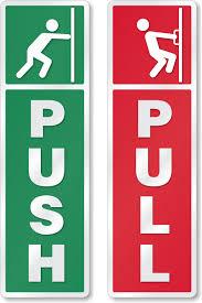 pull door sign.  Pull Zoom Price Buy Intended Pull Door Sign U