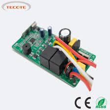 dc motor circuit for ceiling fan with remote controller