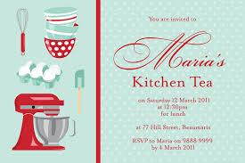 Kitchen Tea Kt 002 Kitchen Tea Invitations Li Designs