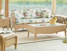tropical style rattan and wicker furniture