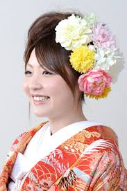 和装髪型 前撮りブライダル撮影専門スタジオフィール 花嫁 髪型