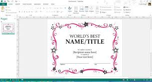 Word S Day Template Mother S Day Templates For Microsoft Office