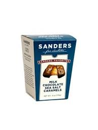 milk chocolate sea salt caramel favorites snack bo 6oz