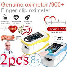 2020 <b>2pcs</b> Newest Professional <b>Finger</b> Pulse <b>Oximeter Fingertip</b> ...