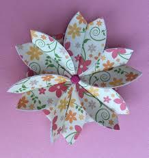 Paper Folded Flower Paper Folded Rosette How To Make A Flowers Rosettes