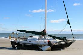 Twice Beached Sailor Recalls His Unusual Visit To Sea Isle