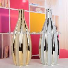 Small Picture Musim Home Decorative Items Tall Ceramic Flower Vase With Golden