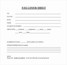 Free Fax Cover Page Template Beautiful Personal Fax Cover