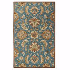 home decorators collection vogue teal blue 2 ft x 3 ft area rug