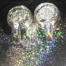 New Nail Glitters <b>Galaxy Holo</b> Flakes 0.2g/<b>Box Laser</b> Bling Rainbow ...