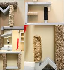 attention cat let me show you how to make cat scratching diy shelves