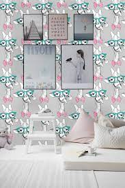 Removable Nursery Wallpaper Mural Peel ...