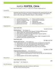 best home health aide resume example livecareer nurse aide resume