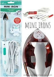 Mini Irons for Applique - & mini irons for quilting and applique there is a difference! Find the best  one for Adamdwight.com