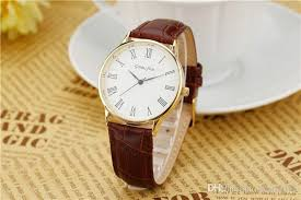 whole classic mens simple style dress fashion casual watches whole classic mens simple style dress fashion casual watches high quality brown leather watch for men brand genius first chr in children s watches from
