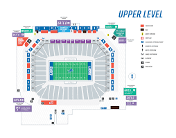 Ford Field Seating Chart View Seating Maps Ford Field
