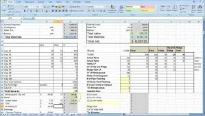 House Construction Cost Estimate Excel Template And Building