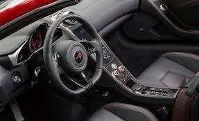 McLaren MP4-12C Spider interior gallery. MoiBibiki #4