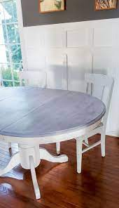 weathered wood stain on furniture