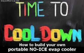 5 gallon bucket no ice evap air conditioner