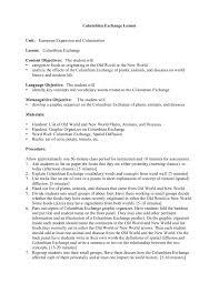 Columbian Exchange Lesson Unit European Expansio Pages 1