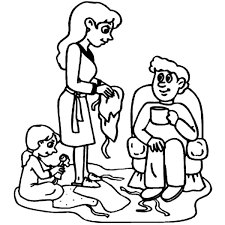 Small Picture Joint Family Opening Christmas Gifts Coloring Pages Batch Coloring