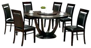 set espresso kitchen table set round espresso dining table 7 piece collection round espresso finish wood dining round dining table set room and board