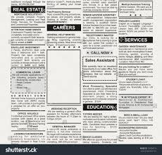 Full Page Newspaper Ad Template Newspaper Classified Ad Template Radiovkm Tk