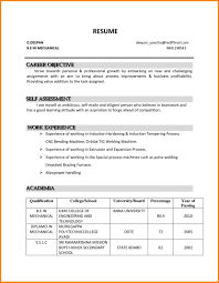 Career Objective On Resume Template Learnhowtoloseweight Net Job
