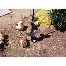 garden auger drill bit. Auger Drill Bit Attachment Yard Hole Digger Garden Plant Bulbs Drilling Shovel -
