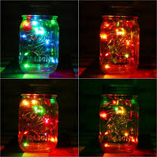 multi color outdoor solar jar design. 1pc solar mason jar fairy light with color changing led for glass jars and garden decor lights multi outdoor design u