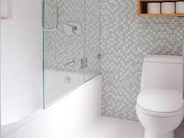 Sleek Modern Bathtub And Shower All In One (Photo 14 of 19)