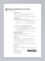 Medical Resume Template Download Www Omoalata Com