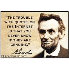 Internet Quotes Amazing The Trouble With Quotes On The Internet Is That You Never Know If