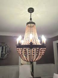 pottery barn rope chandelier wood bead with and 3 on chandeliers px griffin