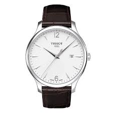 tissot watches quality swiss watches ernest jones watches men s tissot brown leather strap watch product number 8894132